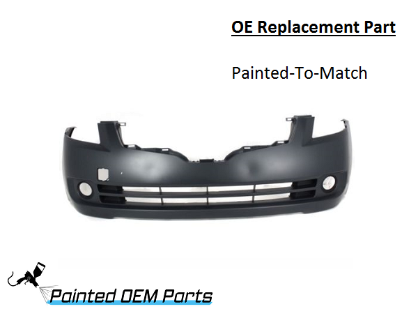 Painted 2007 2009 Nissan Altima Oe Replacement Front