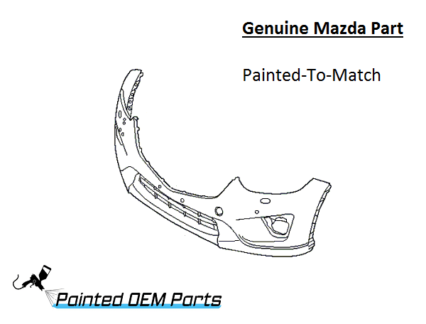 spare files brand detail front mazda suit bumper parts dy new car to genuine